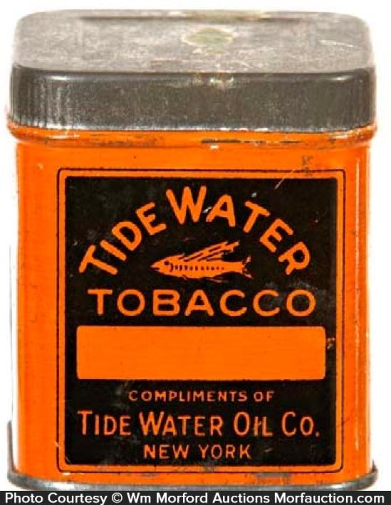 Tide Water Tobacco Sample Tin