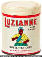 Luzianne Coffee Sample Tin