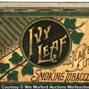 Ivy Leaf Tobacco Tin