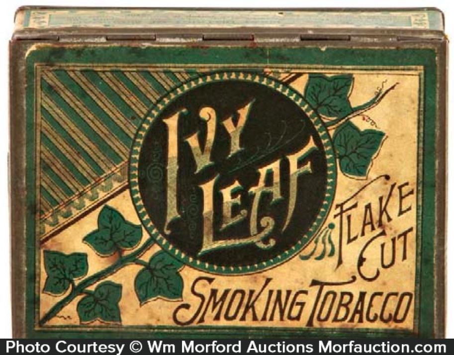 Ivy Leaf Tobacco Tin