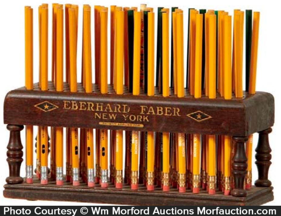 Eberhard Faber Pencil Display