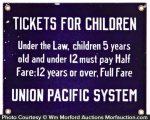 Union Pacific Railroad Sign