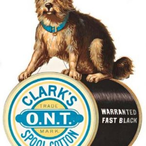 Clark's Spool Cotton Die-Cut