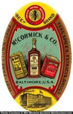 Mccormick Spice Pocket Mirror