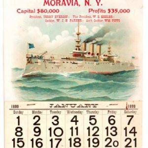 First Bank Battleship Calendar