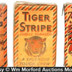 Tiger Stripe Tobacco Packs