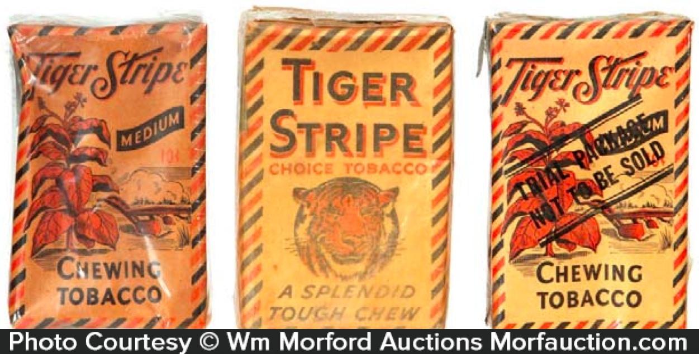 Tiger Stripe Tobacco Packs