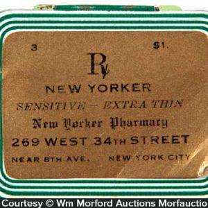 New Yorker Condom Tin