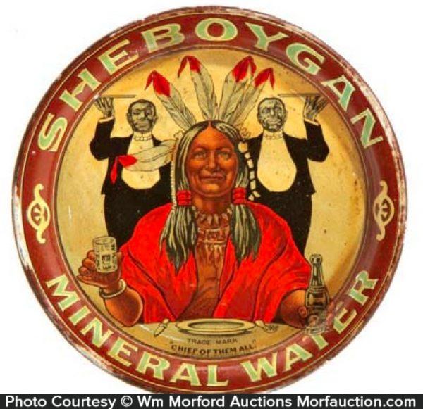 Sheboygan Mineral Water Tray