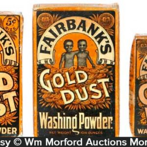 Gold Dust Soap Boxes