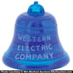 Western Electric Bell Paperweight
