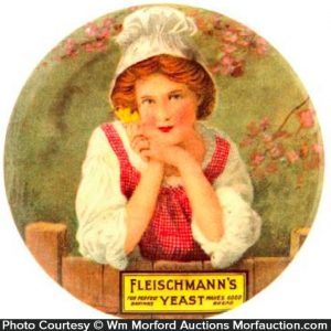 Fleischmann's Yeast Pocket Mirror