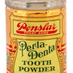 Perla-Denta Tooth Powder Tin