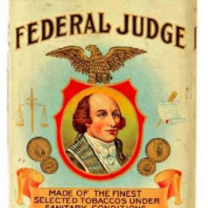 Federal Judge Cigar Can