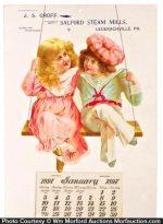 Sadford Steam Mills Calendar
