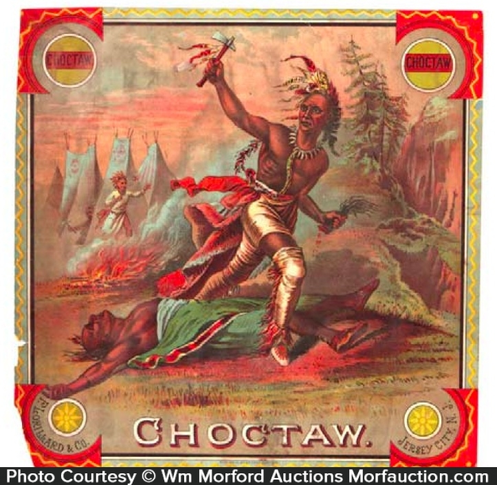 Choctaw Tobacco Label