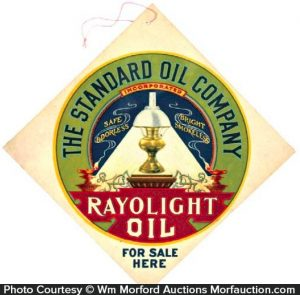 Rayolight Oil Sign