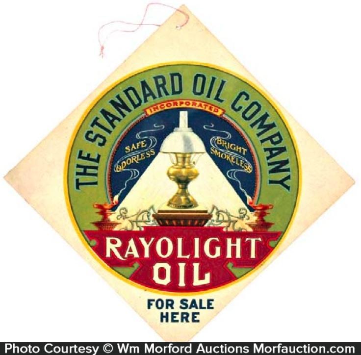 Rayolight Oil Sign