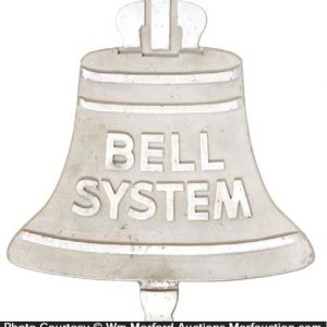 Bell System Aluminum Sign