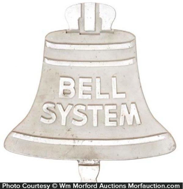 Bell System Aluminum Sign