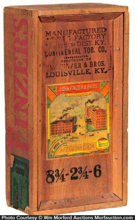 Finzer Tobacco Box