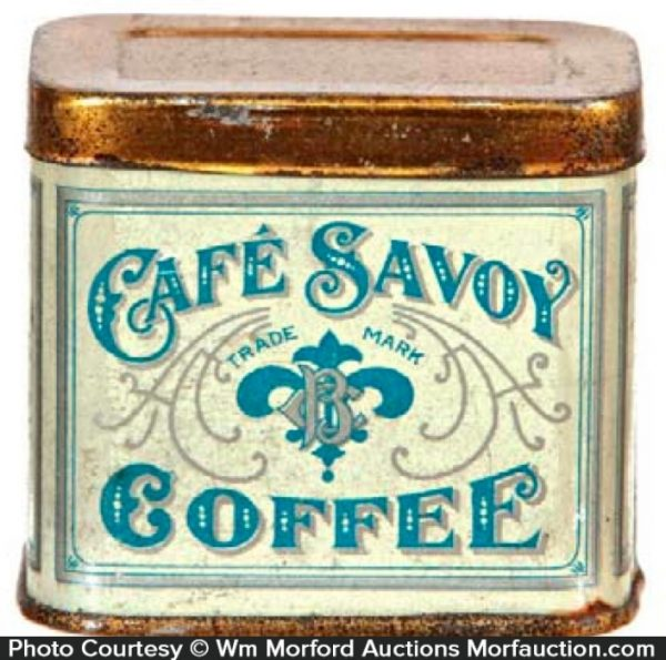 Cafe Savoy Coffee Sample Tin