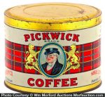 Pickwick Coffee Tin