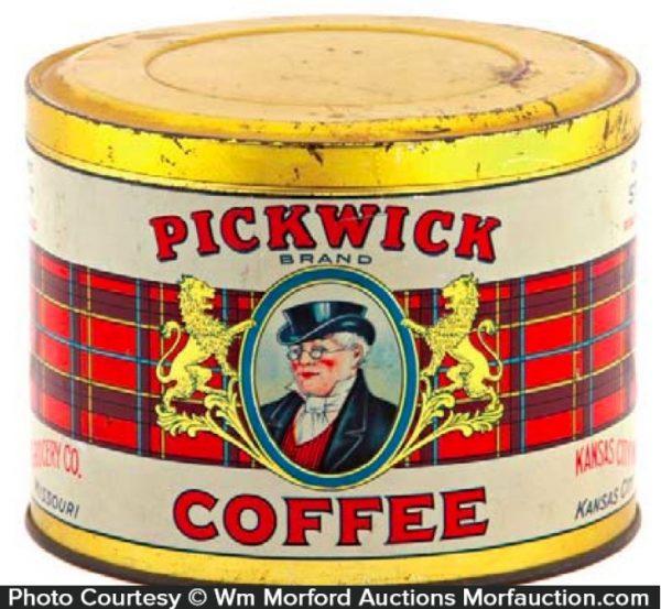 Pickwick Coffee Tin