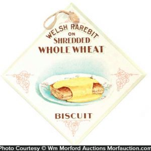 Welsh Rarebit Biscuit Sign