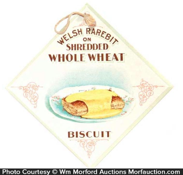 Welsh Rarebit Biscuit Sign