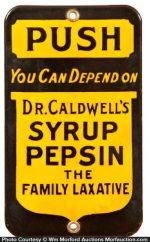 Dr. Caldwell's Door Push