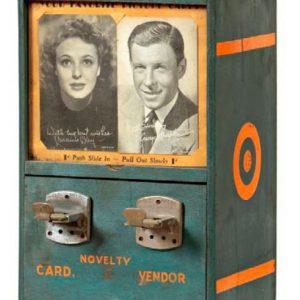 Novelty Card Vending Machine