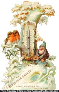 Household Ranges Thermometer