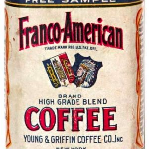 Franco-American Coffee Can Sample