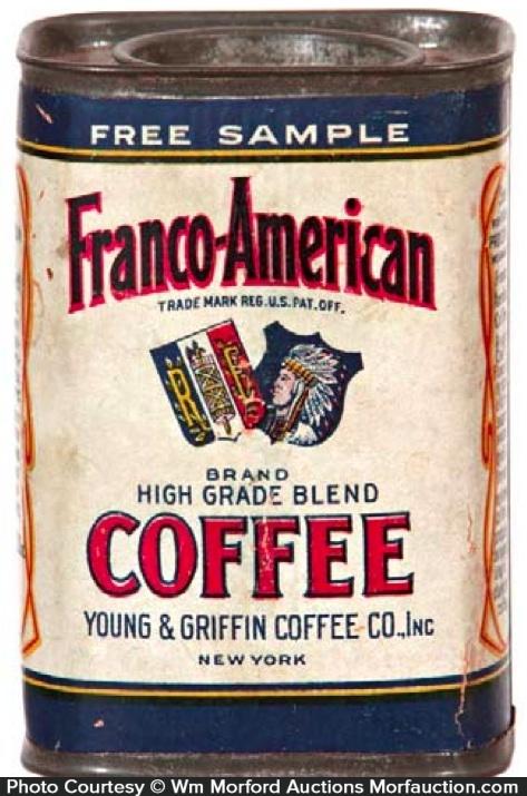 Franco-American Coffee Can Sample