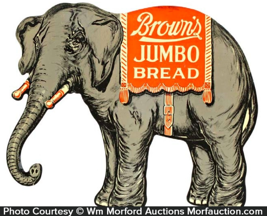 Brown's Bread Sign