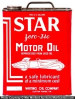 Star Oil Can