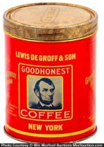 Goodhonest Coffee Tin