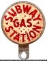 Subway Gas Station Plate Topper
