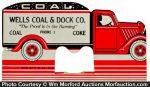 Coal Truck Desk Calendar