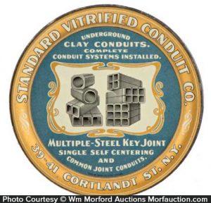 Vitrified Clay Conduits Tray