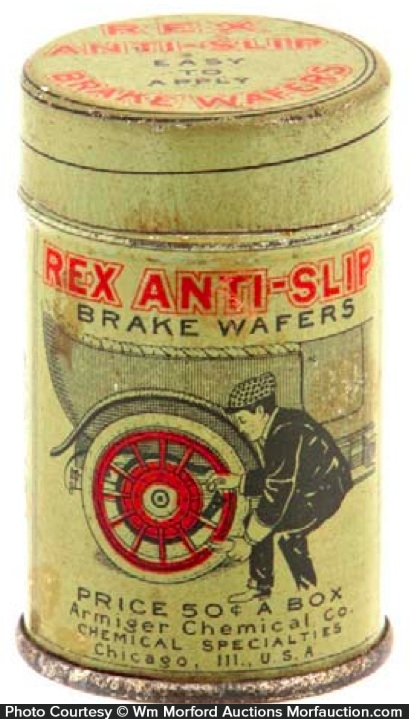Rex Brake Wafers Tin