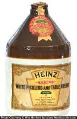 Heinz Vinegar Jug