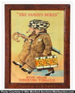 Duke's Mixture Tobacco Sign