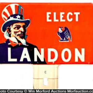 Elect Landon Bumper Tag