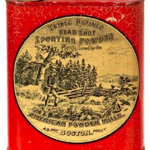 Dead Shot Gunpowder Tin