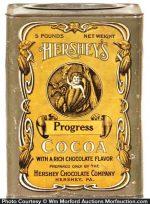 Hershey's Progress Cocoa Tin