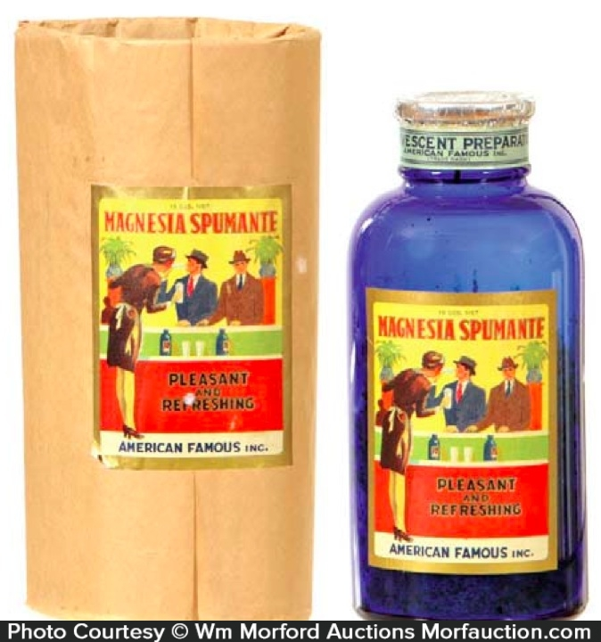 Magnesia Spumante Bottle