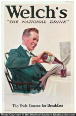Welch's National Drink Sign