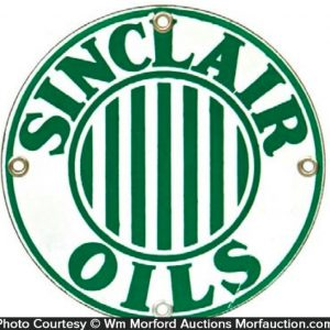 Sinclair Oils Porcelain Sign